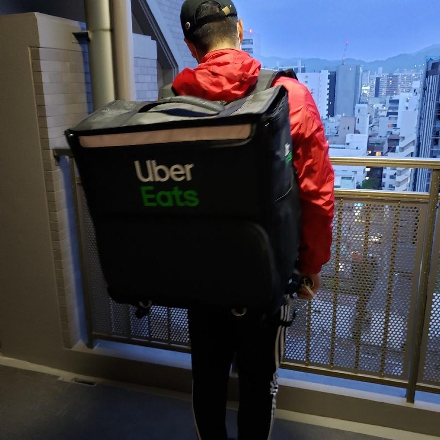 今度はUber Eats_a0105740_07373639.jpg