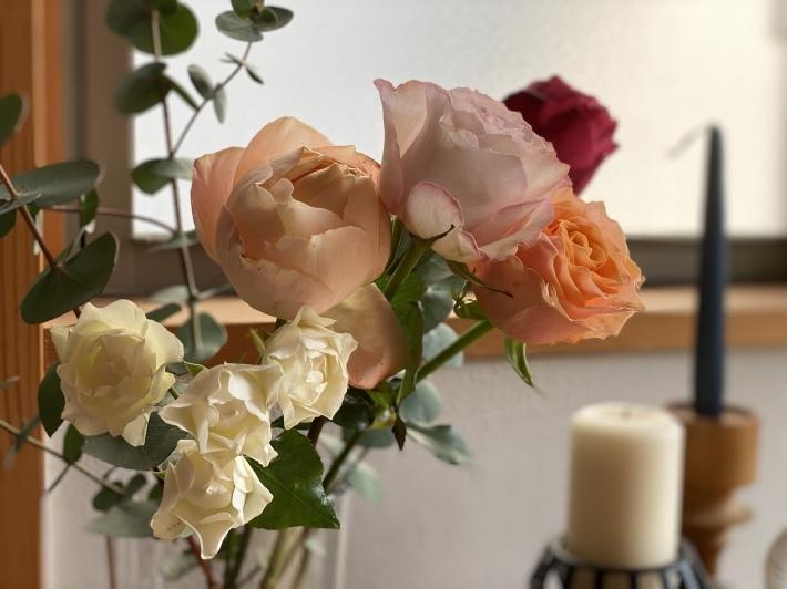 花と新聞の定期便☆_c0152341_21414124.jpg