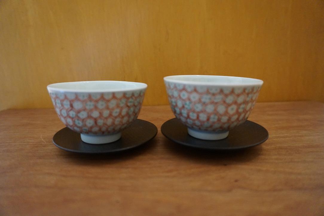 工房くさなぎさんの拭き漆豆皿と茶杯_b0132442_13450646.jpeg