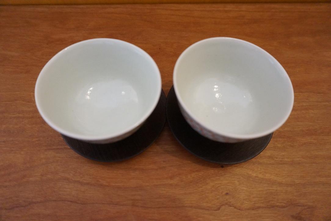工房くさなぎさんの拭き漆豆皿と茶杯_b0132442_13451005.jpeg
