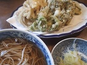 【天ぷら蕎麦】_e0093046_18041036.jpg