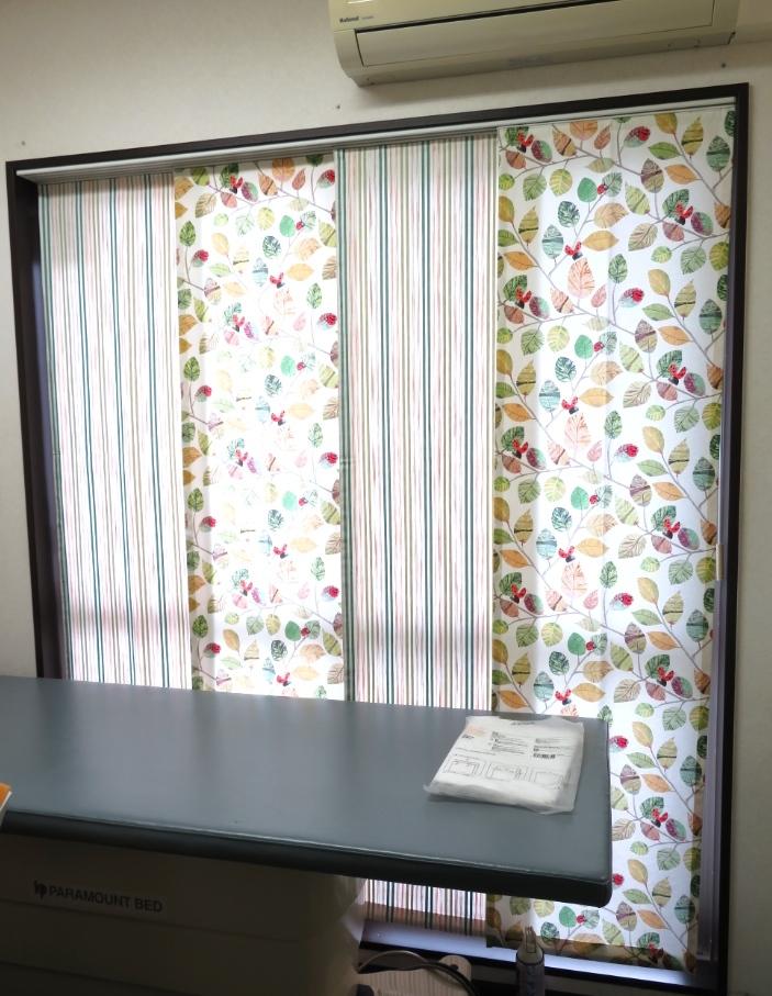 クリニックのカーテン『ヴィラノヴァ』 モリス正規販売店のブライト_c0157866_17511311.jpg