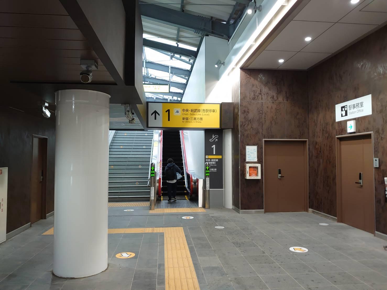 「千駄ヶ谷駅リニューアル」_a0075684_10372258.jpg