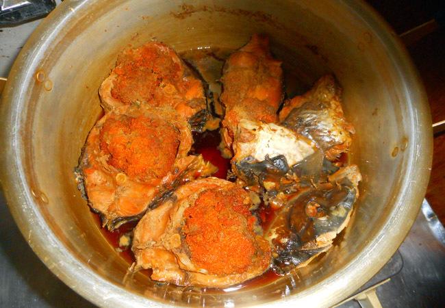 鯉の甘露煮を作る。_c0081499_18464590.jpg