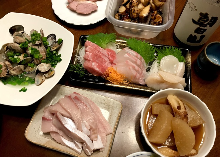ブリと日本酒はやはりテッパン!_c0212604_196019.jpg
