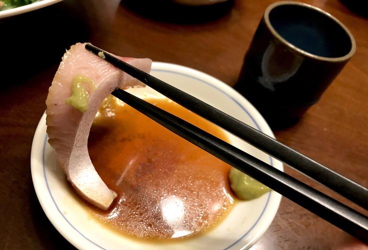 ブリと日本酒はやはりテッパン!_c0212604_1973445.jpg