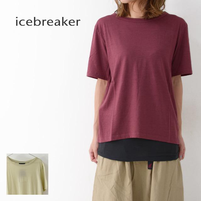 ICE BREAKER [アイスブレーカー] W NATURE DYE SS CREWE [ITW22071] ネイチャーダイ ショートスリーブ クルー・Tシャツ・LADY\'S _f0051306_14090658.jpg