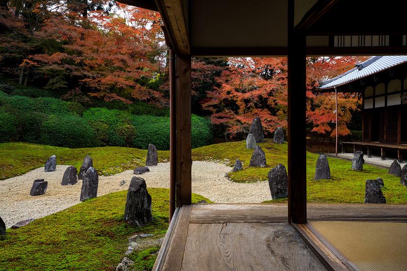 紅葉が彩る京都2019 大好きなお庭の秋景色(光明院)_f0155048_21401955.jpg