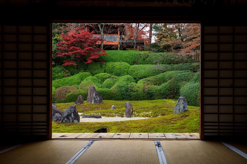 紅葉が彩る京都2019 大好きなお庭の秋景色(光明院)_f0155048_21552750.jpg