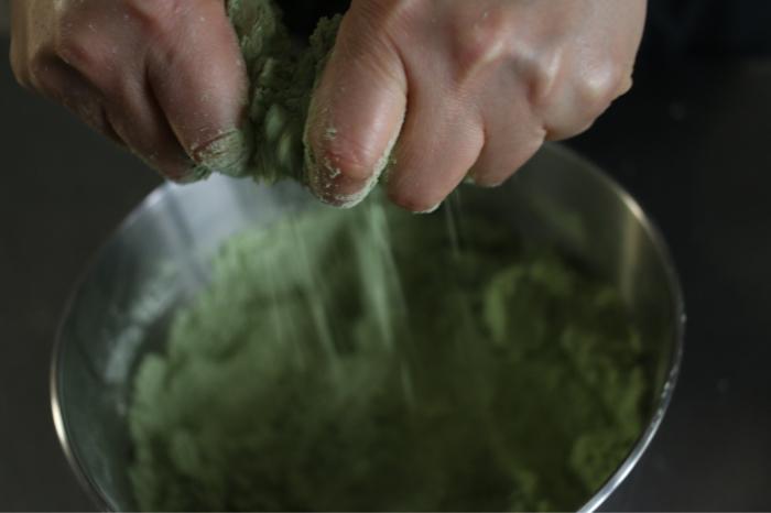 ルバン種で抹茶スコーン、酵母の働き、発酵させるおいしさ_c0162653_14365188.jpg