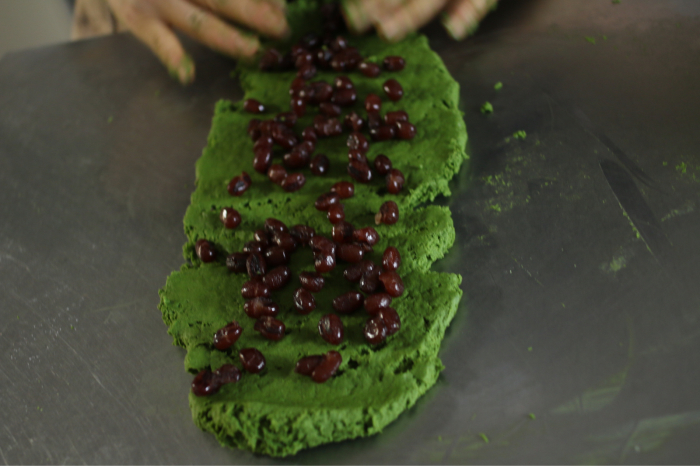 ルバン種で抹茶スコーン、酵母の働き、発酵させるおいしさ_c0162653_14365332.jpg