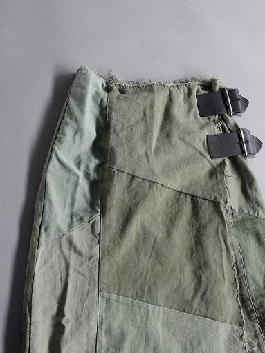 Rebuild By Needles T/C Fatigue Shirt / Pants → Wrap Skirt_b0139281_13523661.jpg
