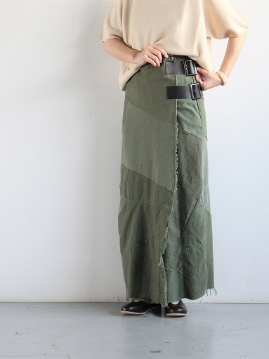 Rebuild By Needles T/C Fatigue Shirt / Pants → Wrap Skirt_b0139281_13524070.jpg