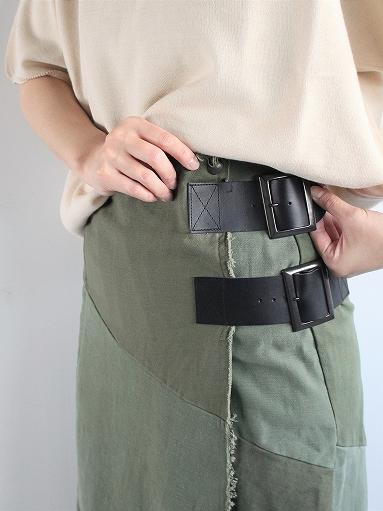 Rebuild By Needles T/C Fatigue Shirt / Pants → Wrap Skirt_b0139281_13524526.jpg