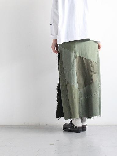 Rebuild By Needles T/C Fatigue Shirt / Pants → Wrap Skirt_b0139281_1352555.jpg