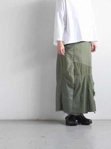 Rebuild By Needles T/C Fatigue Shirt / Pants → Wrap Skirt_b0139281_1352568.jpg
