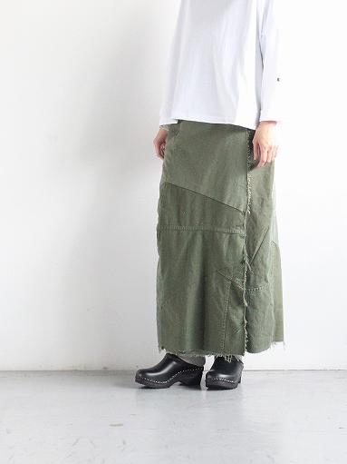 Rebuild By Needles T/C Fatigue Shirt / Pants → Wrap Skirt_b0139281_1352941.jpg
