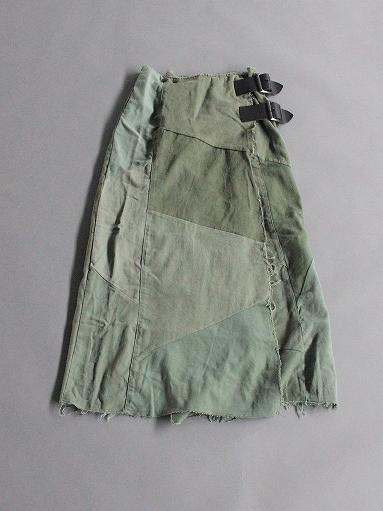 Rebuild By Needles T/C Fatigue Shirt / Pants → Wrap Skirt_b0139281_1353089.jpg