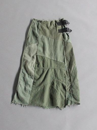 Rebuild By Needles T/C Fatigue Shirt / Pants → Wrap Skirt_b0139281_13531037.jpg