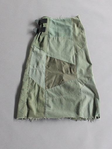 Rebuild By Needles T/C Fatigue Shirt / Pants → Wrap Skirt_b0139281_13531556.jpg