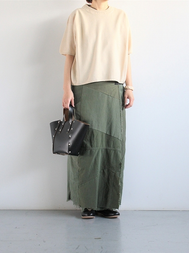 Rebuild By Needles T/C Fatigue Shirt / Pants → Wrap Skirt_b0139281_13543453.jpg