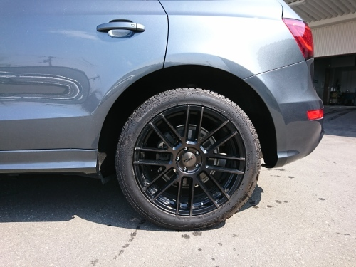Audi Q5 ローダウン eibach_c0219786_14472512.jpg