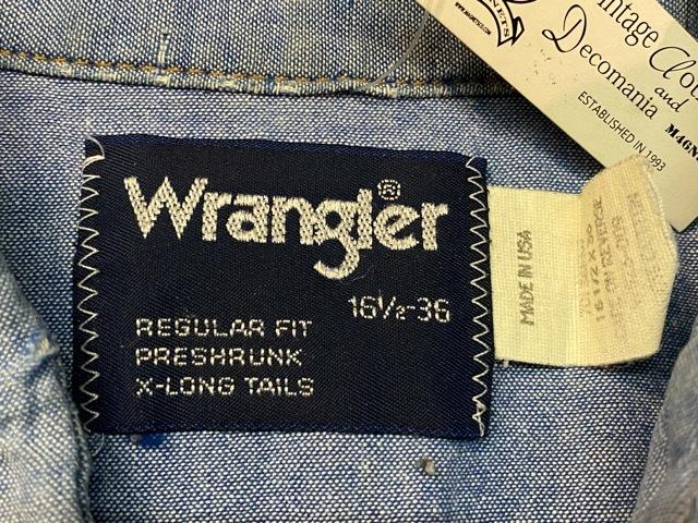 VintageWesternShirt!!(マグネッツ大阪アメ村店)_c0078587_14112562.jpg