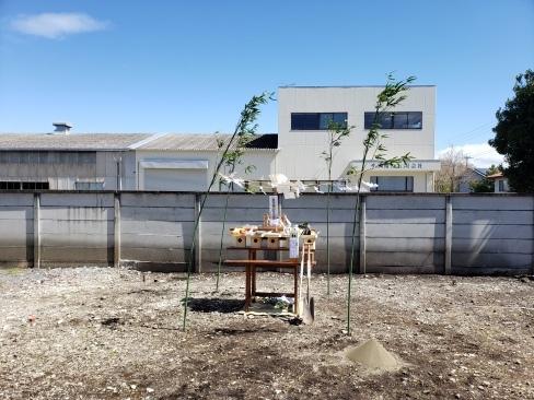 芳賀町にて地鎮祭を執り行いました_a0059217_10444868.jpg