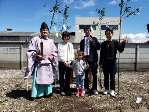 芳賀町にて地鎮祭を執り行いました_a0059217_10445551.jpg