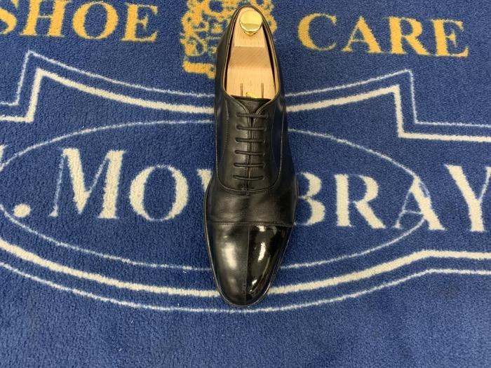 おうちで靴磨き 「鏡面磨きの端っこに段差はあるのか」_b0226322_15540260.jpg