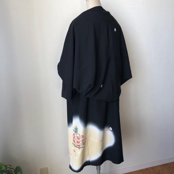着物着物リメイク/留袖からチャイナボタンのワンピース_d0127925_10280683.jpg