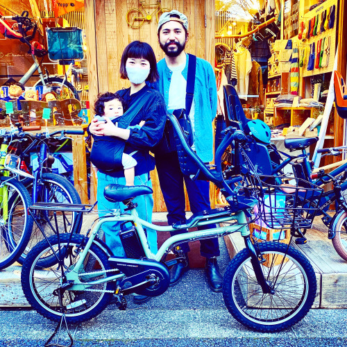 EZ! パナソニックez 電動自転車特集『バイシクルファミリー』Yepp ビッケ ステップクルーズ 電動自転車 おしゃれ自転車 チャイルドシート bobikeone BEAMS bp02 イーゼット_b0212032_17082909.jpeg