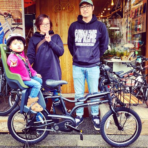 EZ! パナソニックez 電動自転車特集『バイシクルファミリー』Yepp ビッケ ステップクルーズ 電動自転車 おしゃれ自転車 チャイルドシート bobikeone BEAMS bp02 イーゼット_b0212032_17085982.jpeg