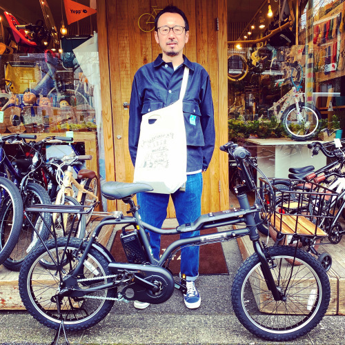 EZ! パナソニックez 電動自転車特集『バイシクルファミリー』Yepp ビッケ ステップクルーズ 電動自転車 おしゃれ自転車 チャイルドシート bobikeone BEAMS bp02 イーゼット_b0212032_17101461.jpeg