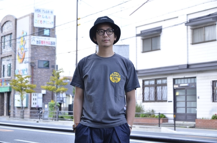 """GO WEST\""""<<GRATEFUL DAY TEE(CHARCOAL)>>Style〜TKB〜_c0167336_22052195.jpg"""