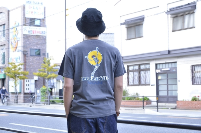 """GO WEST\""""<<GRATEFUL DAY TEE(CHARCOAL)>>Style〜TKB〜_c0167336_22053129.jpg"""