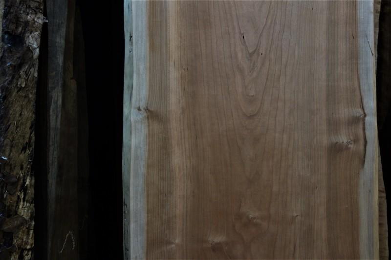 一枚板カウンター パープルハートとブラックチェリー_e0156341_19024856.jpg