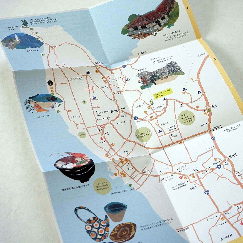 Yomitan Map_c0191542_09100521.jpg