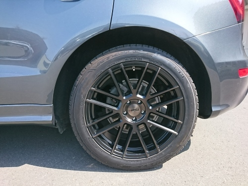 Audi Q5 ローダウン eibach_c0219786_17303197.jpg