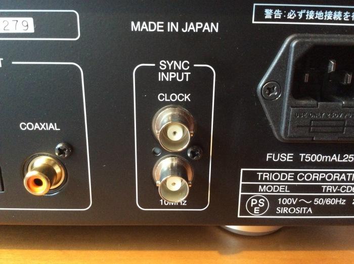 ハイレゾCDが聴ける TRIODE(トライオード) TRV-CD6SE を試聴いたしました。_b0292692_15043052.jpg