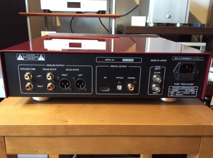 ハイレゾCDが聴ける TRIODE(トライオード) TRV-CD6SE を試聴いたしました。_b0292692_15072343.jpg
