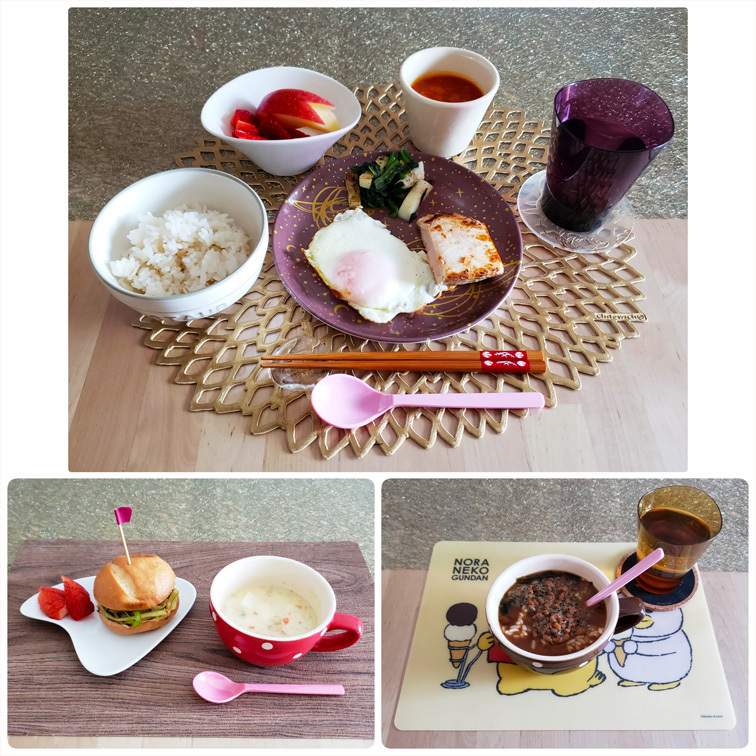ドクター・スースの絵本/君子蘭/娘とお料理。_d0224894_18290927.jpg