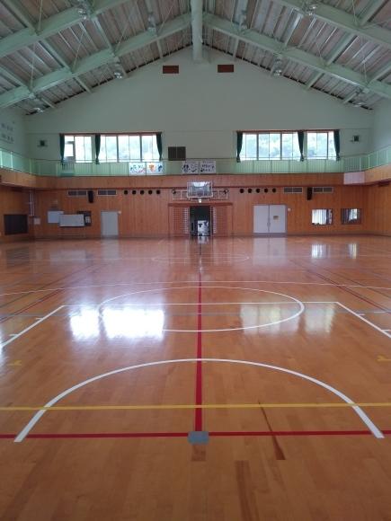 さみしい体育館…_c0219018_11194967.jpg