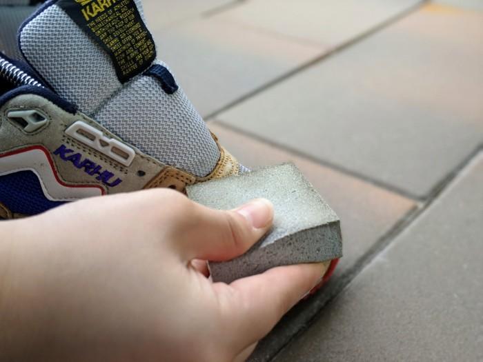 【おうちで靴磨き】スニーカーのスエード補色。_b0226322_15342520.jpg