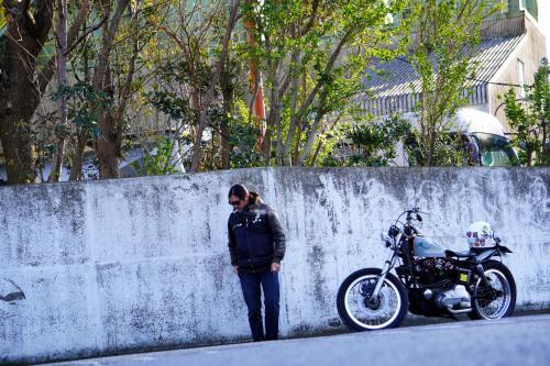 小野 浩司 & Harley-Davidson '75XLCH(2020.01.03/HONMOKU)_f0203027_16211970.jpg