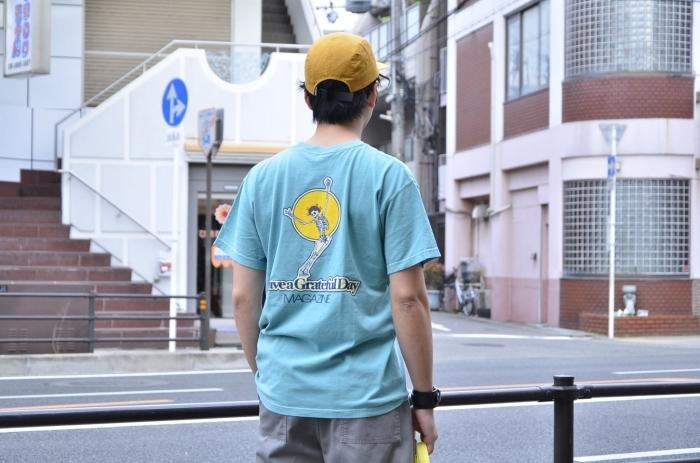 "GO WEST\""<<GRATEFUL DAY TEE(GREEN)>>Style〜TKB〜_c0167336_20465919.jpg"