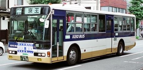 京王バス南 三菱KC-MP317P +MBM_e0030537_14471228.jpg
