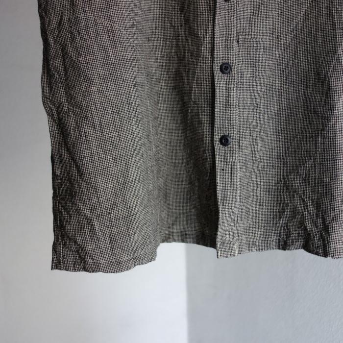 6月の製作 / classic linen artisanal vest_e0130546_13014829.jpg