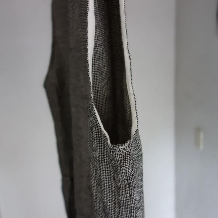 6月の製作 / classic linen artisanal vest_e0130546_13031120.jpg