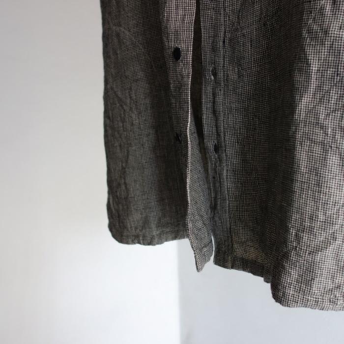 6月の製作 / classic linen artisanal vest_e0130546_13033820.jpg